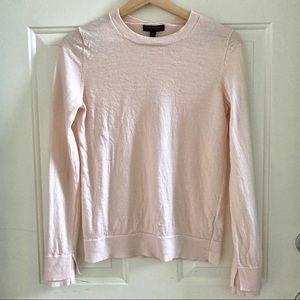 Banana Republic Blush Pink Merino Wool Sweater M